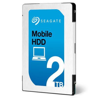 2,5-дюймовый 2-ТБ жёсткий диск Seagate толщиной 7 мм