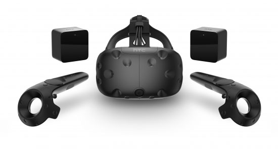 Финальная версия шлема HTC Vive Consumer Edition