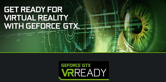 Логотип программы «GeForce GTX VR Ready»