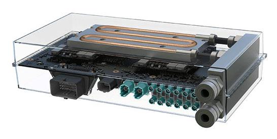 Автомобильный компьютер NVIDIA DRIVE PX 2