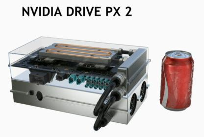 NVIDIA DRIVE PX 2 с системой охлаждения