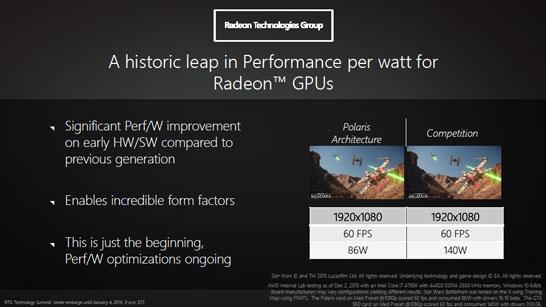 Сравнение видеокарты на GPU поколения AMD Polaris с решением NVIDIA