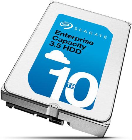 Первый заполненный гелием жёсткий диск компании Seagate