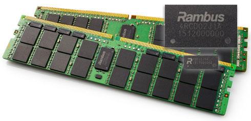 На модулях памяти DDR4 RDIMM и LRDIMM впервые появились микросхемы компании Rambus