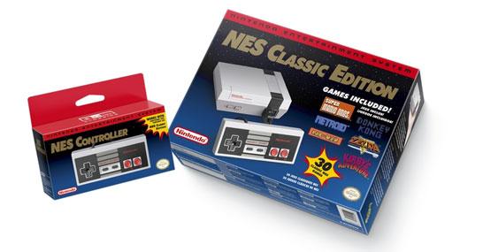 Комплект поставки NES Classic Edition