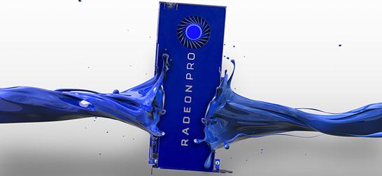 Новое поколение видеокарт AMD Radeon Pro для рабочих станций