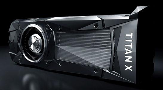 Видеокарта NVIDIA TITAN X Pascal