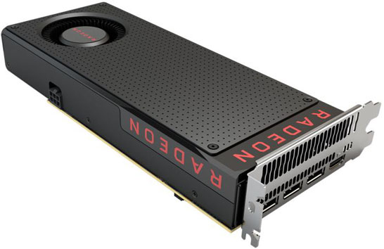 Эталонный дизайн видеокарты AMD Radeon RX 480