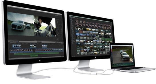 Современные 27-дюймовые мониторы Apple Thunderbolt Display