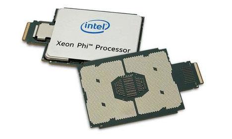 Процессоры Intel Xeon Phi 72xx со встроенным контроллером Omni-Path