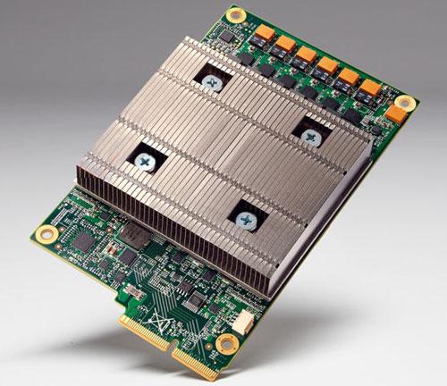 Модуль Google с ускорителем Tensor Processing Units (TPU)