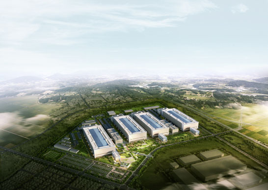 Завод Samsung Line 18 в городе Пхёнтхэк (Южная Корея, проект)