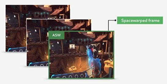 Технология ASW обеспечит гарантированный поток игровых кадров с частотой 90 Гц