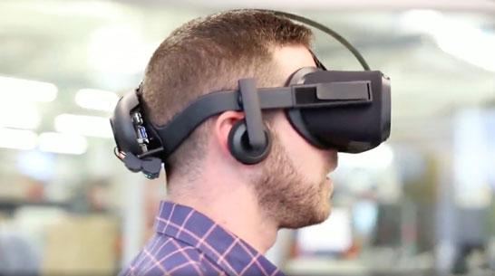 Прототип автономного шлема Oculus Rift