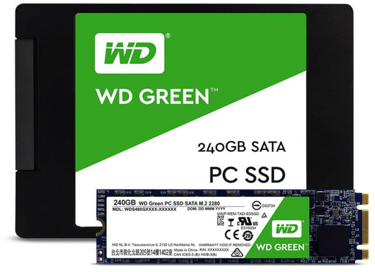 SD WD Green