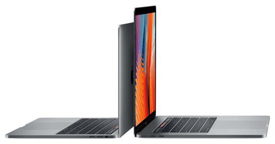 Ноутбуки Apple MacBook Pro образца 2016 года