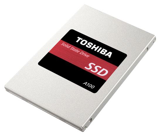 Начни с простого: Серия SSD Toshiba A100 для систем начального уровня
