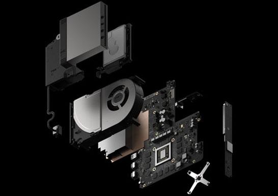 Строение игровой приставки Microsoft Project Scorpio