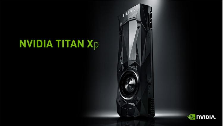 Самая быстрая в индустрии игровая однопроцессорная видеокарта TITAN Xp
