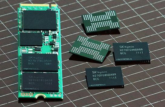 SK Hynix планирует самостоятельно выпускать как однокорпусные SSD, так и SSD-накопители