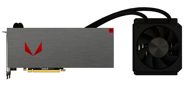 Видеокарта AMD Radeon RX Vega 64 Liquid Cooled Edition
