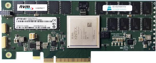 Кэшируюший 2-ГБ адаптер на памяти MRAM