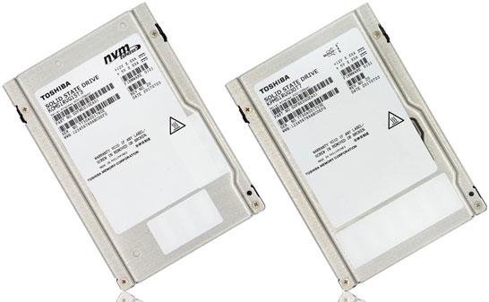Первые в индустрии серверные SSD на 64-слойной 3D NAND TLC (Toshiba)