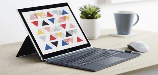Ноутбук HP Envy x2 на процессоре Qualcomm под управлением Windows 10