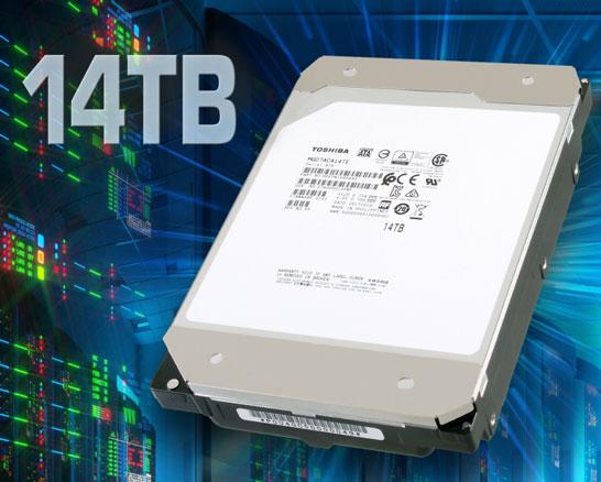 Новые флагманы Toshiba состоят из девяти 3,5-дюймовых пластин
