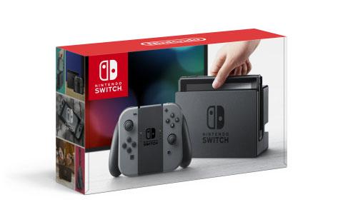 Комплект игровой приставки Nintendo Switch