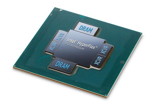 Матрица FPGA Intel Stratix 10 в версии с памятью HBM2
