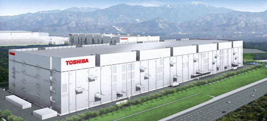 Проект завода Fab 6 Toshiba