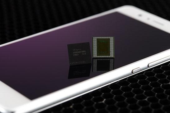 SK Hynix представила первую в мире 8-ГБ память LPDDR4X
