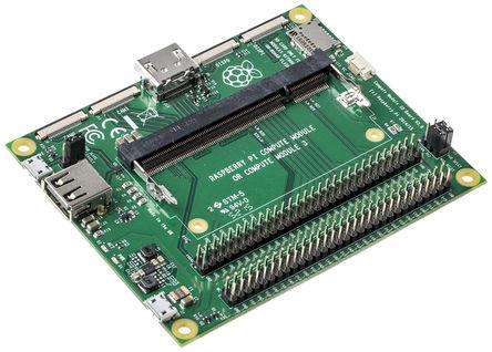 Плата Compute Module IO Board для отладки модулей Raspberry Pi Compute Module 3