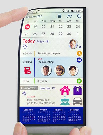 Пластиковый дисплей для смартфонов (Japan Display)