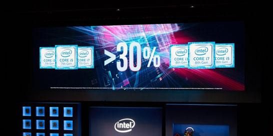 Мнение Intel о приросте производительности процессоров Intel Core i7-8000 (Coffee Lake)