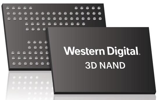 Цифровое изображение вероятной упаковки памяти 3D NAND BiCS3 X4