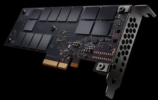 Обратная сторона SSD Intel Optane DC P4800X 375 ГБ
