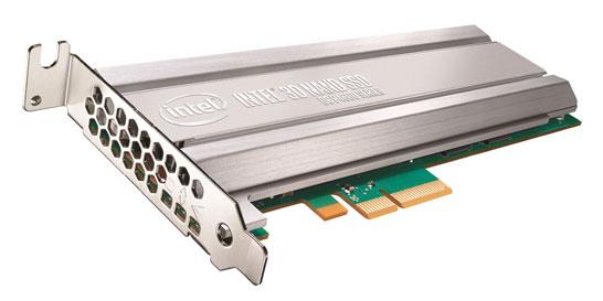 Новые серверные SSD компании Intel