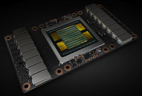 Исполнение адаптера NVIDIA Volta GV100