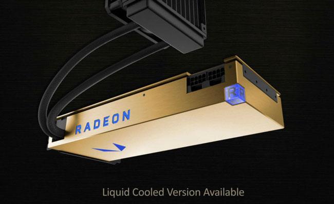 Видеокарта AMD Radeon Vega Frontier Edition (с жидкостным охлаждением)