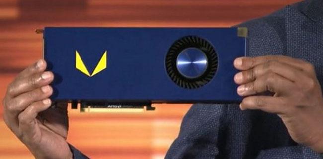 Видеокарта AMD Radeon Vega Frontier Edition (с воздушным охлаждением)