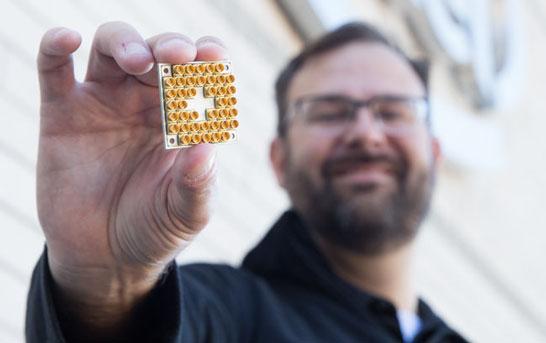17-кубитовый чип Intel для квантовых компьютеров