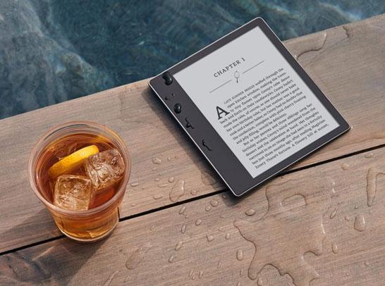 Электронная книга Amazon All-New Kindle Oasis с 7-дюймовым дисплеем E Ink