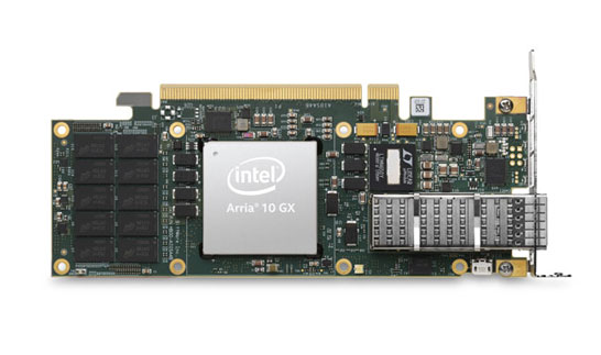 Ускоритель Intel Programmable Acceleration Card на FPGA-матрице Arria 10 GX