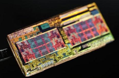 Изображение кристалла AMD Zeppelin