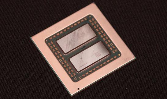 Модель процессора AMD EPYC 3000 с двумя кристаллами Zeppelin (16-ядерная)
