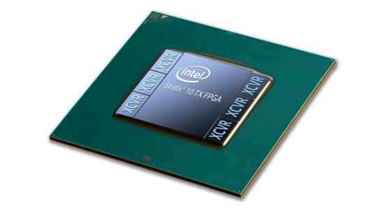 Матрицы FPGA Intel Stratix 10 TX с приёмопередатчиками 58G