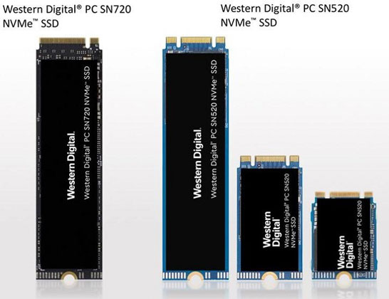 Новые серии SSD Western Digital