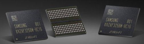 Образцы 16-Гбит памяти GDDR6 компании Samsung
